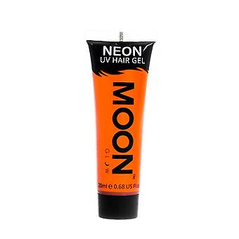 Moon Glow - 20ml Neon UV hår Gel - tillfälliga Wash-out hårfärg - Orange