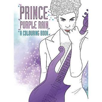 Prince - Purple Rain - A Coloring Book - 9780859655521 Book