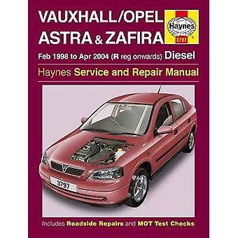 Vauxhall Opel Astra & Zafira Service and Repair Manual - 978178521288