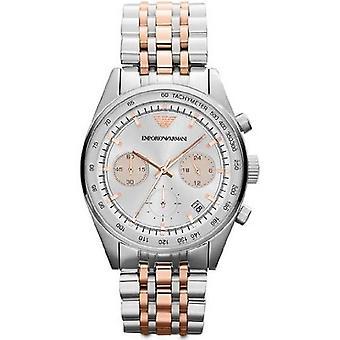 Emporio Armani Ar6010 Ladies due Tone orologio cronografo
