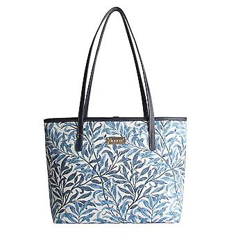 William Morris-Willow gren axel Tote Bag av signare gobeläng/coll-wiow