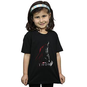 Marvel Studios Girls Thor poster camiseta