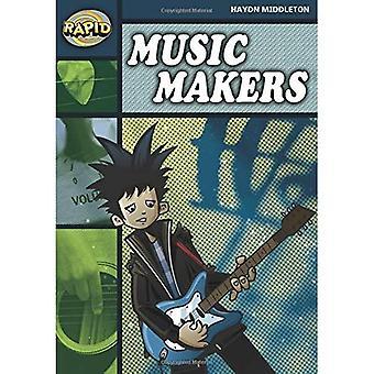 Rapid Stage 6 Set B: Music Makers (Series 2): Series 2 Stage 6 Set (RAPID SERIES 2)