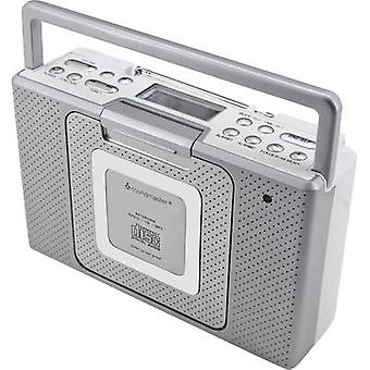 soundmaster BCD480 FM AUX, CD splashproof Silver