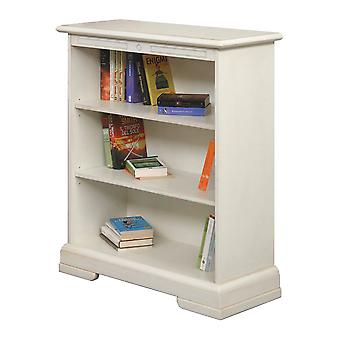Bookcase lacquered Low Adjustable shelves