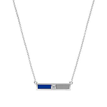 US Air Force Diamond Pendant Necklace In Sterling Silver Design by BIXLER