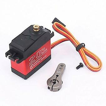 20 kg RC Servo Servo ds3120mg Aluminium Shell Waterproof Servo Digital Servo for Control Car RC (Angle 180)