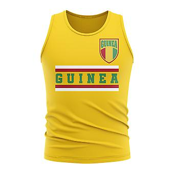Guinea Core Football Country Sleeveless Tee (Yellow)