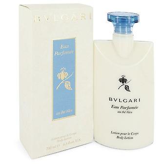 Bvlgari Eau Parfumee Au The Bleu Body Lotion By Bvlgari   546786 200 ml