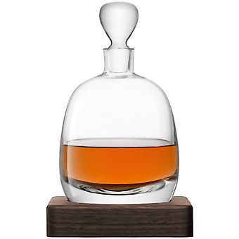 LSA internationale Whisky Islay Decanter op een Walnut Base - 1L