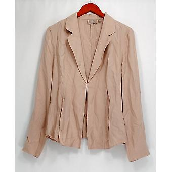 Kelly di Clinton Kelly Blazer Draped Front Giacca Soft Blush Pink A252792