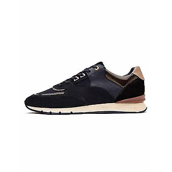 Android Homme  Black & Gold Carbon Belter 2.0 Sneaker