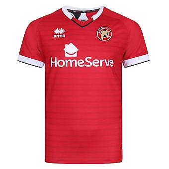 2019-2020 Walsall Errea Home Football Shirt
