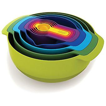 Joseph Joseph Nest 9 multicolor set with antiskid (Kitchen , Cookware , Others)