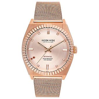 Jason hyde ruby-eigth Quartz Analog Woman Watch with JH20006 Stainless Steel Bracelet