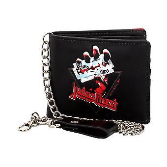 Judas Priest British Steel Wallet with Chain