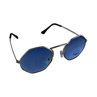Occhiali da sole UV 400 argento Blauw1892_7