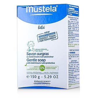 صابون لطيف موستلا مع كريم الباردة 150 غ/5.29 أونصة