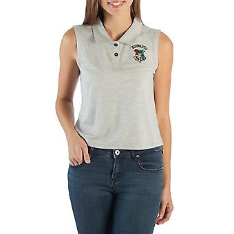 Harry Potter Women's Sleeveless Hogwarts Polo Shirt