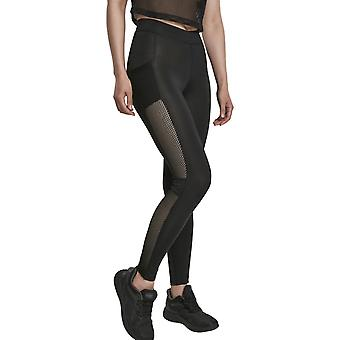Urban Classics Ladies - Tech MESH Stripe Leggings