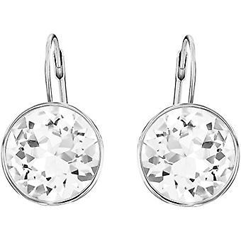 Swarovski Earrings Bella - white - rhodio plating