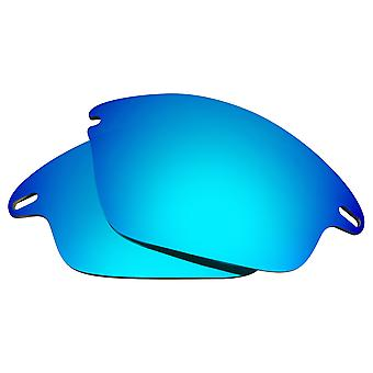 Polarized Replacement Lenses for Oakley Fast Jacket Sunglasses Blue Anti-Scratch Anti-Glare UV400 by SeekOptics