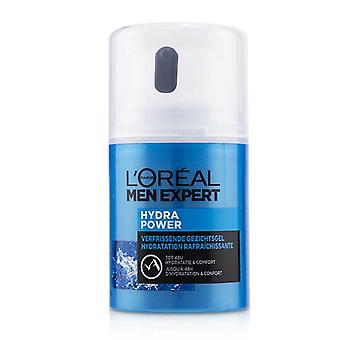 L'oreal Men Expert Hydra Power Refreshing Face Gel To 48 Hours Hydration & Comfort - 50ml/1.69oz