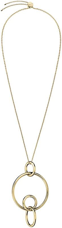 Calvin Klein Clink Gold PVD Stainless Steel Pendant Necklace KJ9PJP100100