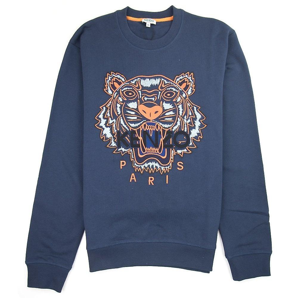 Kenzo Tiger tröja MarinblåOrange