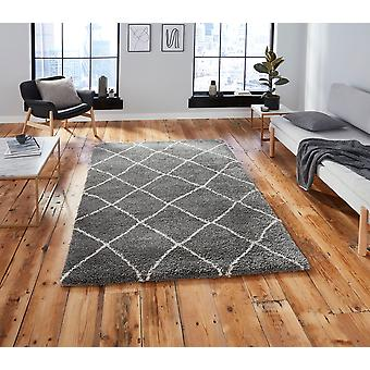 Atlas 01678 Grey Cream  Rectangle Rugs Plain/Nearly Plain Rugs