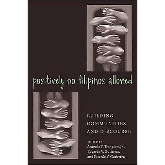 Positivamente No Filipinos permitieron - construyendo comunidades y discurso (