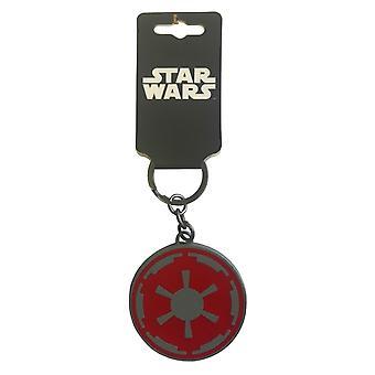 Star Wars Keyring Keychain At-AT Walker Pilot Logo new Official Metal