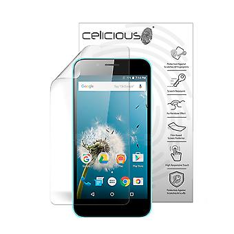 Celicious Vivid Plus Mild Anti-Glare Screen Protector Film Compatible with LG K3 (2017) [Pack of 2]