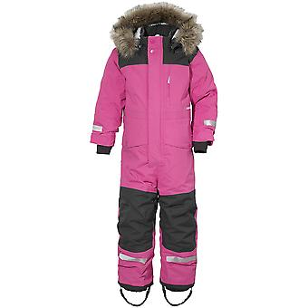 Didriksons Polarbjornen Kinder Schneeanzug | Kunststoff rosa | 140cm