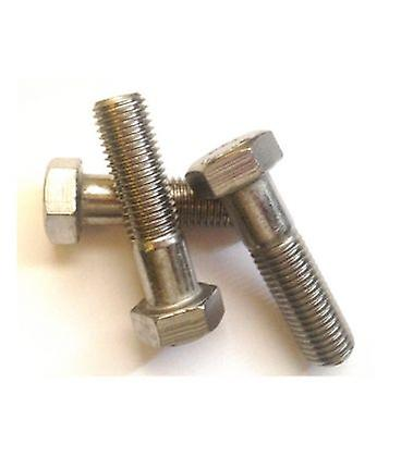 M16 X 50 Mm Hex Bolt - A2 Stainless Steel Din931