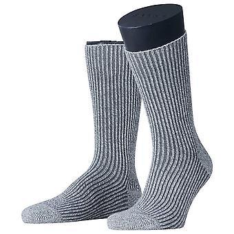 Esprit Structure Boot Socken - Hellgrau Melange