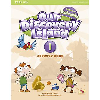 Our Discovery Island Level 1 Activity Book and CD ROM Pupil Pack by Linnette Erocak