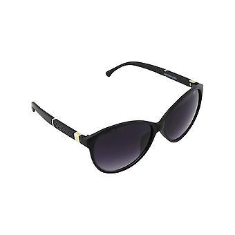Solbriller UV 400 oval guld sort 2583_32583_3