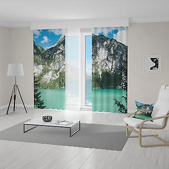 Meesoz Vorhänge (2pcs) - Lake At The Mountains