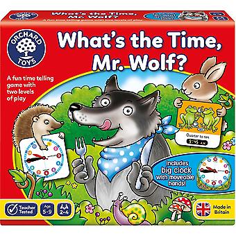 Orchard Toys What'S The Time, Mr. Wolf?