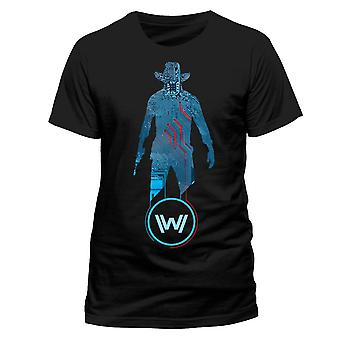 Westworld Adults Unisex Adults Man In Black T-Shirt