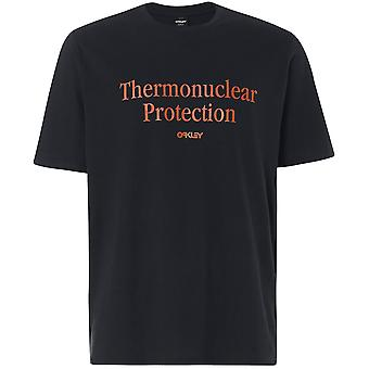 T-Shirt Men Oakley Thermonuclear Protection T-Shirt,Blackout