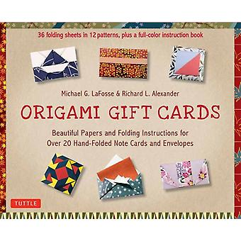 Origami Gift Cards Kit by LaFosse & Michael G.Alexander & Richard L.