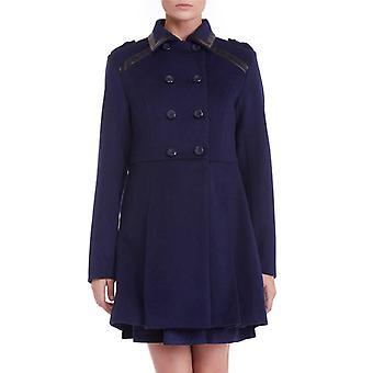Sugarhill Boutique Military Coat Blue