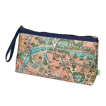 Paris Wash Bag - Metropolitan Range by Wild & Wolf