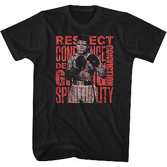 American Classics Muhammad Ali RCDCGS T-Shirt - Schwarz