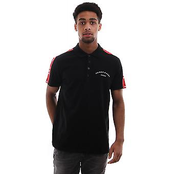 Diesel T Gorou Short Sleeve Polo With Logo