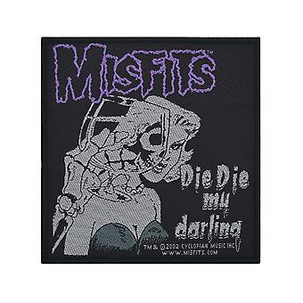 Misfits Die Die My Darling Woven Patch