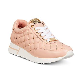 Bebe Womens Barkley Low Top Lace Up Fashion Sneakers