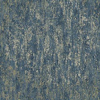 Industriële textuur behang Navy Holden 12842